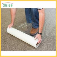 500g / 25mm Carpet PE Protection Film Transparent Anti Dust Protective Film Manufactures