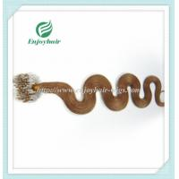 """Micro ring loop hair extensions 16""""-26""""L indian remy hair 27# color body wave hair Manufactures"""
