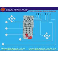 Push Button Tactile Membrane Switch , Customizable Keypad With Poly Dome Manufactures