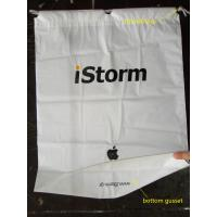 Colorful CPE / LDPE Plastic Printed Drawstring Bags For Toys / Gift Manufactures