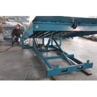 6000Kg Stationary Container Loading Dock Ramp , Adjustable Hydraulic Dock Levelers Manufactures