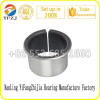 Quality Solid Self Lubricating High Performation PTFE  bearing bushing / Sliding bearing / Oil Bearing 10*8*8mm for sale