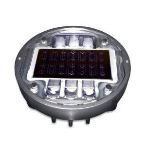 Quality Solar road stud ASD-013 CE IP68 alluminum road solar road marker solar warning lights for sale