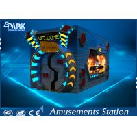 Special Effect System 5D Cinema Equipment / 7D Movie Theater For Shopping Mall Manufactures