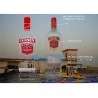 Sky Advertising Balloons Inflatable Alcohol Bottles , Customised Inflatable Floating Wine Bottle Manufactures