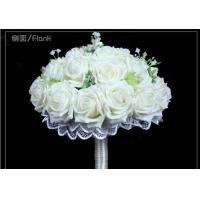 China artificial wedding gifts DIY foam rose bridal bouquet on sale