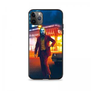 Custom Joker Design Lenticular Phone Case , 3D Silicone Flip Mobile Phone Cases Manufactures