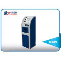 Buy cheap LCD AD Display Ticket Vending Kiosk With Operated Management Internet from wholesalers