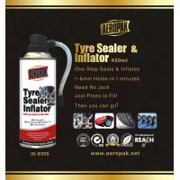 White Aeropak Emergency Tyre Repair Sealant Inflator 450ml 650ml Manufactures