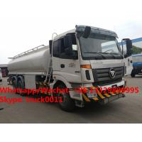 HOT SALE!FOTON AUMAN 6*4 20m3 Oil tank truck, Factory sale competitive price FOTON 20m3 fuel transported tank truck Manufactures