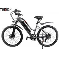 China Electric Mileage 31KM Electric Battery Powered Bike 26 Inch With Front / Rear Fenders on sale