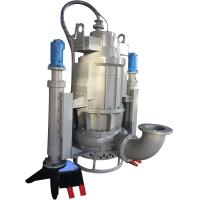 submersible vertical sand dredging pump with electric motor driven control box Manufactures