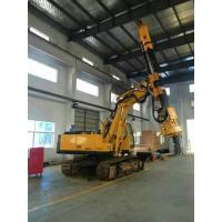 Bored Pile Driver Hire , Driven Piles Construction Hydraulic Rig Machine 6.1T Total Weight Manufactures