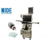 Auto rotor armature insulation paper insertion machine , Shaft O.D 3~17mm Manufactures