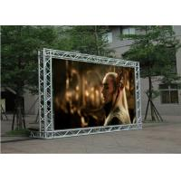 Full Color P5 LED Wall Screen Display Outdoor High BrightnessAlum Cabinet Manufactures