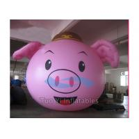 Custom Advertising Inflatables Cartoon Helium Balloons Ground Placing Manufactures