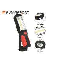 3W COB USB Charge Portable LED Flood Lights Magnet 180 Degree Rotary Camp Lantern Manufactures
