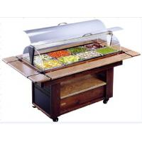 NN-SO1420 Salad Bar Commercial Buffet Equipment With Wheel For Convenient Moving Manufactures