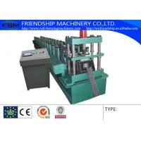 Hydraulic Mould Cutting Rack Roll Forming Machine With 4kw Main Motor Power Manufactures