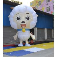 Event Display Inflatable Advertising Products 3.5m Height Pleasant Sheep Manufactures