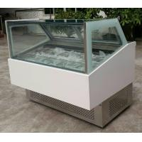 Commercial Refrigerator Freezer 45 Degree Ice Cream Cupboard with Aspera Compre Manufactures