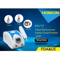 Q Switched Nd YAG Laser Portable Tattoo Removal Freckle Removal Beauty Machines Manufactures