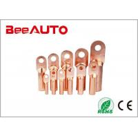 DT Electrical Uninsulated Copper Terminal Lugs For Railway , Transportation Manufactures