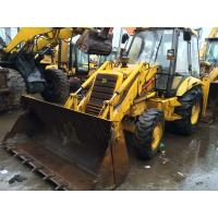 Buy cheap Original colour Used Backhoe Loader JCB 3CX good condition from wholesalers