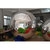 Reflection Inflatable Mirror Ball For Decoration , Advertising Air Balloons Manufactures