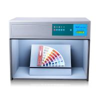 Small Size Light Box Color Assessment Cabinet D65 TL84 F UV Four Light Sources Manufactures