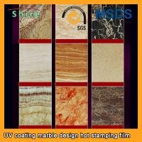 PVC Wall Panels PET Heat Transfer Film With Wood Grain Or Marble Printed Manufactures