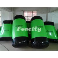 Customized Inflatable Sport Games , Paintball Field for Paintball Bunkers 27PC Manufactures