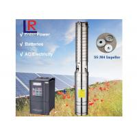 3 Inch 1.1kw Irrigation Water Pump 65m , High Pressure Solar Water Pump Manufactures