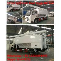 Buy cheap 2018s dongfeng 12m3 livestock and farm-oriented feed transported truck for sale, wholesale best price bulk feed truck from wholesalers