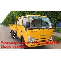 Factory direct sale ISUZU LHD twin cab 98hp diesel mini cargo truck, Japanese brand leading isuzu Brand pickups Manufactures