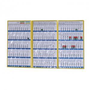 150 Size Dental Diamond Burs Catalogue , Drilling Teeth Treatment Dental Lab Diamond Burs Manufactures