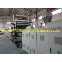 China Wood Veneer Sheet / Pvc Marble Plastic Board Production Line 1-5m/Min on sale