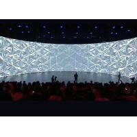P2 Curved Seamless LED Video Wall Screens With Industry - Leading Contrast Ratio Manufactures