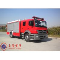 Max Power 177KW CAFS Fire Truck With Casting Oil Circuit Cooling System Manufactures