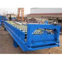 Automatic Volume Shutter Door Roll Forming Machine With Computer Control Manufactures