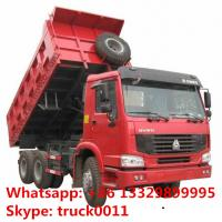 SINO TRUK HOWO brand LHD 6*4 30tons dump tipper truck fpr sale, hot sale best price HOWO brand 25tons-3tons tipper truck Manufactures