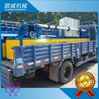 PVC Wire Full Automatic Chain Link Fence Machine Φ1.4mm - Φ4.5mm Weaving Diameter Manufactures