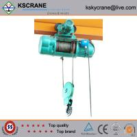China Hot Sale 380V Remote Control Electric Hoist Rope Hoist With Pendent Control on sale