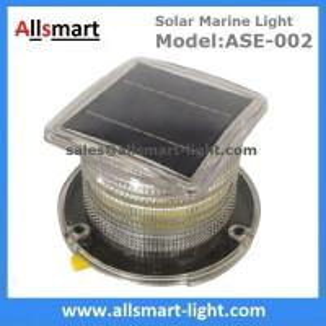 Quality 15LED Solar Marine Aquaculture Lights ASE-002 Buoys Navigation Hazard Warning for sale