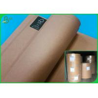 Buy cheap Jumbo Roll Recycled Test Liner 160GSM Paper / Custom Size FSC Brown Packing from wholesalers
