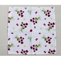 36 * 38cm Floral Kitchen Dish Towels With High Water And Grease Absorption Manufactures