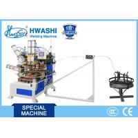 HWASHI Automatic Welding Machine 100KVA Wire Spiral Fan Guard Spot Applicatio Manufactures