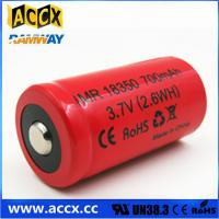 Quality ICR18350 700mAh 3.7V li-ion battery 18350 for led, cordless phone, home for sale