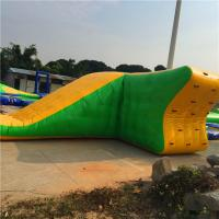 0.9MM PVC Tarpaulin Durable Inflatable Water Park / Sport Games For Water Recreation In Outdoor Manufactures