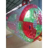 0.8 MM PVC Inflatable Water Toys / Inflatable Walking Roller With Air Pump Manufactures